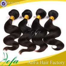 Super fashional better quality 7A brazilian loose wave human hair extensions
