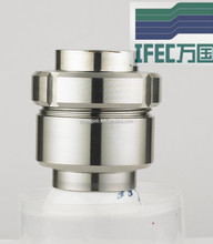 Sanitary stainless steel forged check valve