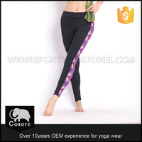 Customized designs Polyester spandex Customized available size usa sexy ladies leggings sex photo