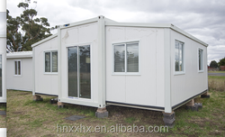 40Feet hot sell expandable flat pack prefab container house,container homes use as living room ,office ,school