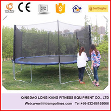 hot sell 14FT round trampoline with basketball hoop, KIDS sports equipment