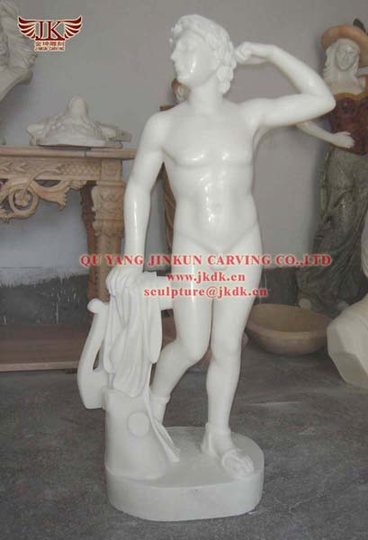 Life Size Roman Warrior Statue Sculpture For Sale In In