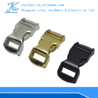 outdoor sports luggage strap with metal buckle quick release buckle