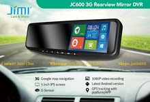 Motor Vehicle A/V Players & In-Dash Systems 3g Smart Rearview Mirror Car Dvr Wifi Gps On car reverse parking sensor with camera
