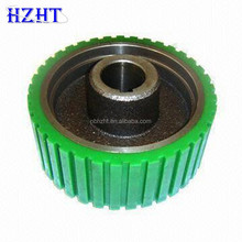 CNC machined part for wheel with sand casting pu coating and painting