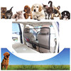 Front Seat Net Pet Barrier - Large Block Area & Metal Poles At the Top Against Pet Pushes