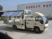 Brand new refrigerated semi trailer van made in China