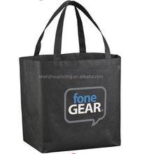 Fashion design non woven bag/pp non woven shopping bags/silk printing non woven string bag