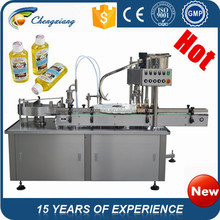 High speed Automatic adhesive body wash filling machine,bottle filling machine lotion,filling and capping machine