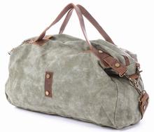 Vintage canvas tote bag Washed canvas shoulder bag Military canvas bag Travel canvas bag Two ways bag