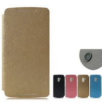 Hot selling leather case for Lenovo X3 lite , Mobile phone leather case for Lenovo X3 lite