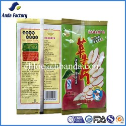 Dried fruit and nuts packaging bag/plastic packaging material/aluminium foil stand up pouch