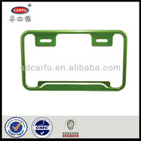 Hot selling motorcycle license plate frame with CE certificate