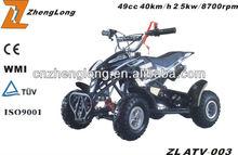 2015 new design kawasaki 49cc atv