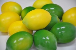 Fake Lemon Artificial Fruits
