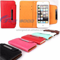 2 in 1 tpu cell couple leather phone case for i phone5
