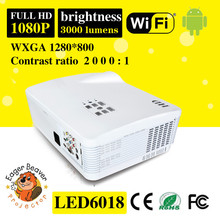 1280x800 wifi mini projector led home projectors trade assurance supply 3d projector for education