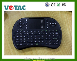 wireless smart keyboard with touch pad and game control
