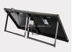 100W folding solar panel DC12V solar kits 100 Watts 12 Volts Monocrystalline Solar Panel