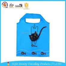 2015 Hot selling practical promotional new style nylon animal folding bag in pocket