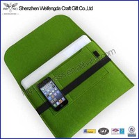 Multifunction High Quality 9.7inch tablet case with phone pocket