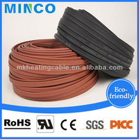 Low Voltage Heating Cable Silicone Rubber Cable 12v Heat Tracing Cables