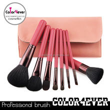 Distributor!8Pieces professional cosmetic goat hair makeup kit promotion gift