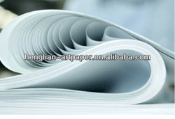 unoiled clear transfer base paper white