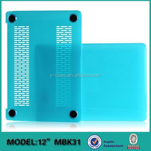 Hot selling Crystal cover case for Apple MacBook Air 12'