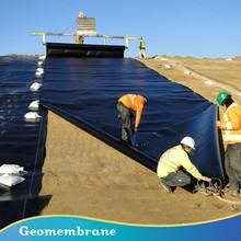 uv protected black hdpe geomembrane sheet