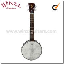 [WINZZ] REMO Head 4 String Chinese Banjo Ukulele (AB-12U)