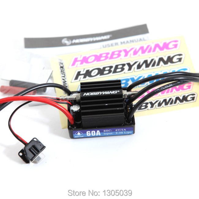 New HobbyWing SeaKing V3 60A BL Motor ESC 6V/2A BEC for RC R/c Racing Boat