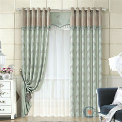 China luxury european style window curtains imported curtains