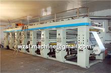 Six Color Plastic Bag Gravure Printing Machine