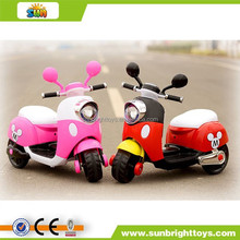 Children's mickey electric scooters new toys 2015