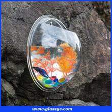 Top Quality Decorative Aquarium Round Clear Wall Mounted Acrylic Fish Tank
