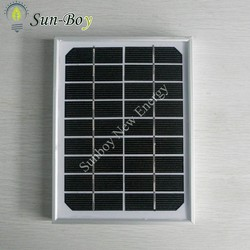 Monocrystalline 3W Small Solar Panel