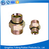 ORFS male hydraulic hose fitting and rubber hose pipe fitting adapter