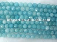 fashion blue 8mm aquamarine strand