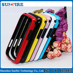Colorful Silicone bumper case for samsung i8260 i8262