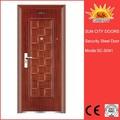 2014 china alibaba de seguridad superior de hierro la puerta principal diseños, moderno puerta sc-s041 casas