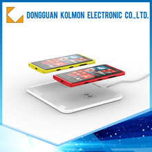 Portable high performance qi wireless charger for ipad 2