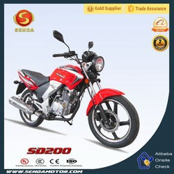 New Design 200CC Street Bike for Men Cheap Black City Bicycle for Passengers SD200