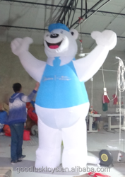 giant inflatable Polar Bear for advertising/ giant inflatable Polar Bear replica