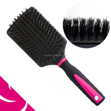 LADY BOAR & NYLON BRISTLE RETANGULAR PADDLE BRUSH