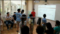 factory supply engaging student portable interactive whiteboard,multi touch easy educator interactive whiteboard