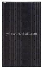 250W Black Solar PV Panel