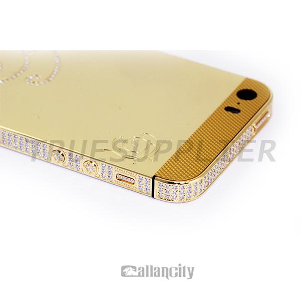 Iphone 5s Gold Back Plate Iphone 5 s Gold Back Plate