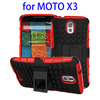 phone case for mobile phone accessory Silicone and PC cover case for moto x3 with low price