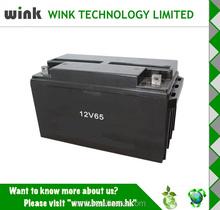 China wholesale Back up 12v 65ah Plastic Battery Storage Case